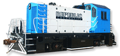 Republic locomotive